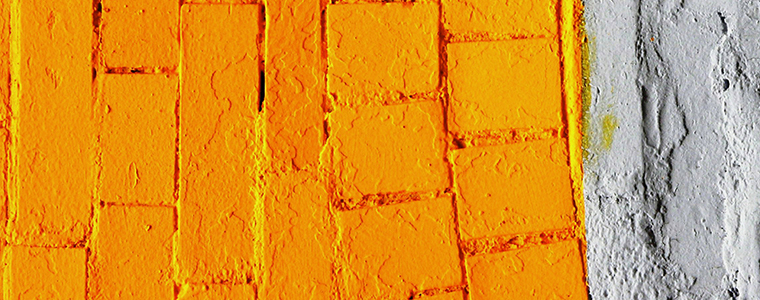 Right Surveyors Asset Management Party Wall - Orange Wall Paint